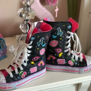 High top shoes girls